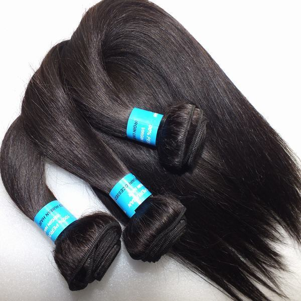 2016 hot selling Aliexpress peruvian virgin hair , no shedding, no tangle and unprocessed 100% remy hair weave