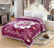 embossed moving mink blanket factory direct