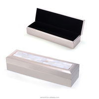 WINKO Natural Rectangular Jewelry Box River Shell Jewelry Box Ladies trinket box