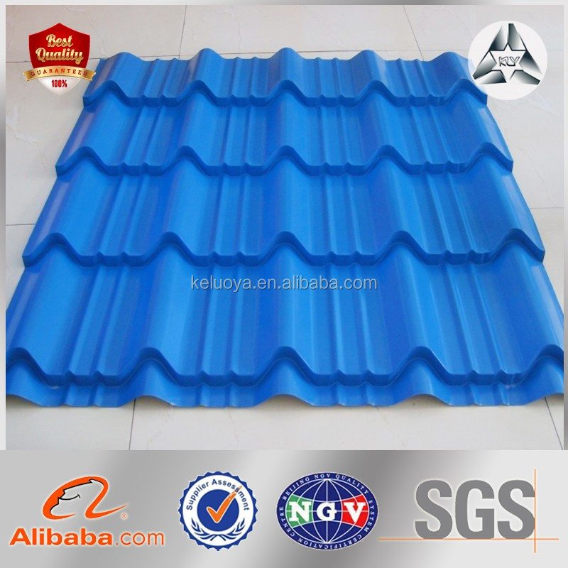 color Galvanized Corrugated Steel Sheet /Color Coated Curved Steel Roofing Sheet