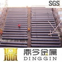 ISO2531 cement lining zinc coat centrifugal casting ductile iron k9 pipe
