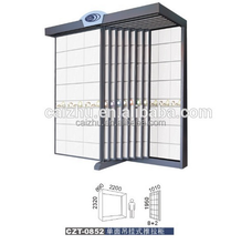 Large decorative tiles display rack