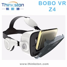 High quality BoBo Z4 Victual Reality 3D Glasses with headphone