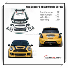 On promotion! PP body kit fit for MINI COOPER R56 TO R56 S JCW style 06~12y