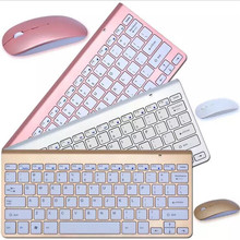 2.4GHz Ultra Slim Full Size Rechargeable Wireless Keyboard and Mouse For Laptop, Notebook, PC, Desktop, Computer
