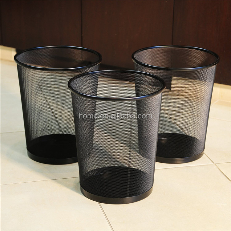 Tesco metal waste paper bin uk standar