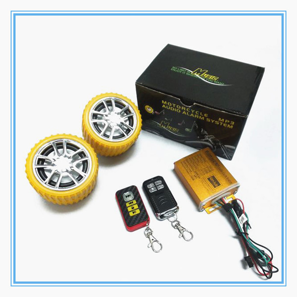 motorcycle mp3 alarm system/alarm motorcycle/mp3 motorcycle accessories/