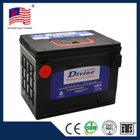 New design Starting battery for vehicles DIVINE car battery weight