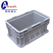 form China factory stacking euro logistics plastic box