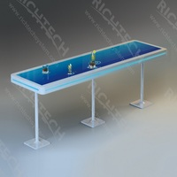 cheap Interactive LED table touch bar / light bar table/led night club table