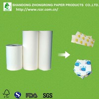 good quality pe coated paper raw material for food wrapping