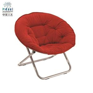 Reliable metal round folding leisure chair