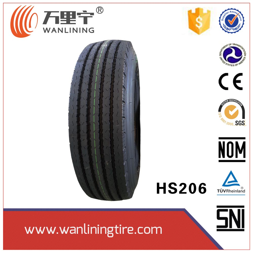All Steel Heavy Duty Truck Tires New Radial TBR Wholesale Tires With Label ECE Smartway 295/75R22.5 otr wheel rim