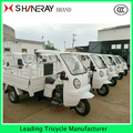 200CC Semi-closed adult moped cargo tricycle bikes with cabin