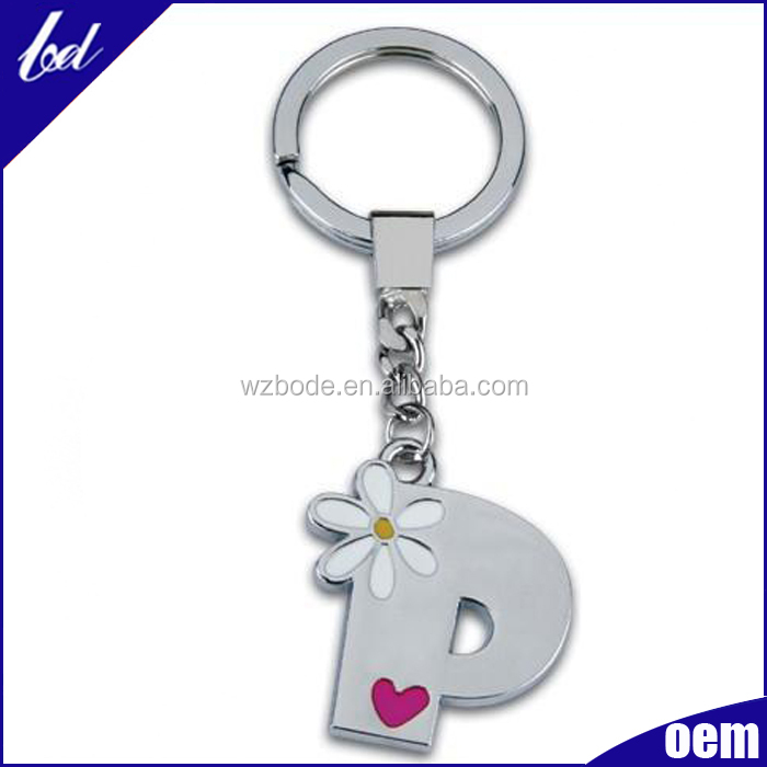 2016 Promotional custom shaped metal keychain giveaway