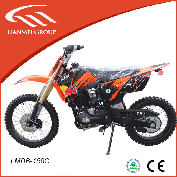 150cc big size dirtbike for adults for sale from Lianmei company with CE/EPA
