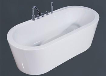 popular design free standing bathtub one piece bathtub for sale