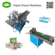 Table napkin paper and facial tissue plastic bag sealing machine factory