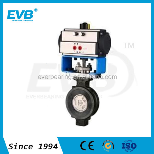 Butterfly Valve PN16&PN25 With pneumatic actuator