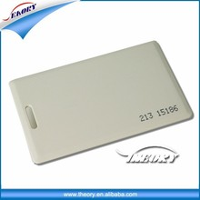 Clam-shell style card 26 bit proximity cards