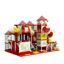 Children Creative Recreation Red Indoor Kids Playground for 3-15 years old