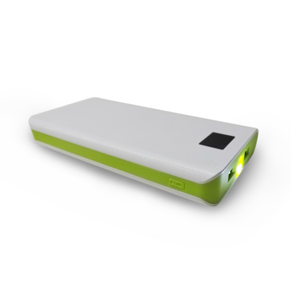 Amazon.com supplier Oem 20000mah power bank with led light for samsung