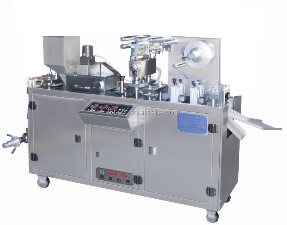 China good quality automatic cup blister form fill seal small packing machine
