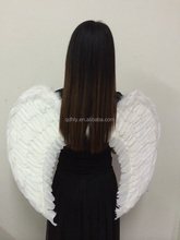 top quality white color ostrich feather wing