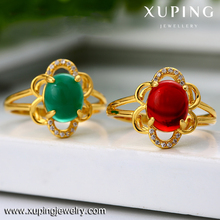 xuping imitation jewelry dubai's cheap high quality gemstone brass alloy wholesale ring
