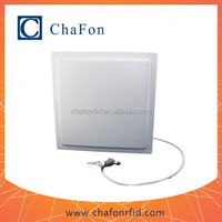 rfid uhf reader integrated antenna with RS232/WG26/TCP/IP/RS485 interface for option provide SDK/demo software/user manual