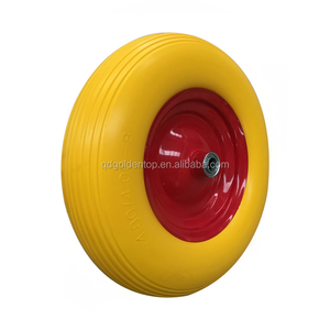 Hot selling cheap price solid rubber tyre 350-4 400-8