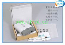 new design ENB power bank case diy power bank 18650 battery replaceable