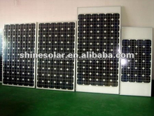 cheap pv module glasses mono-silicon solar module