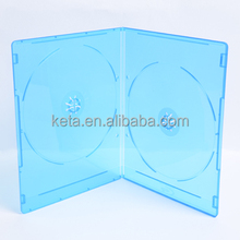 5mm Super Slim Double DVD Blu Ray Case With Blu-ray Logo