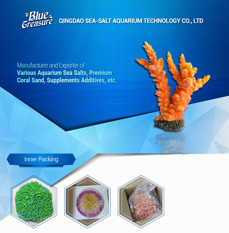 Export cheap and beautiful aquarium accessories artificial coral