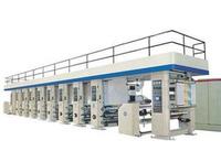 8 color Gravure Printing Machine
