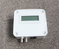 mbar Air adjustable differential pressure transducer ,sensor with LCD display