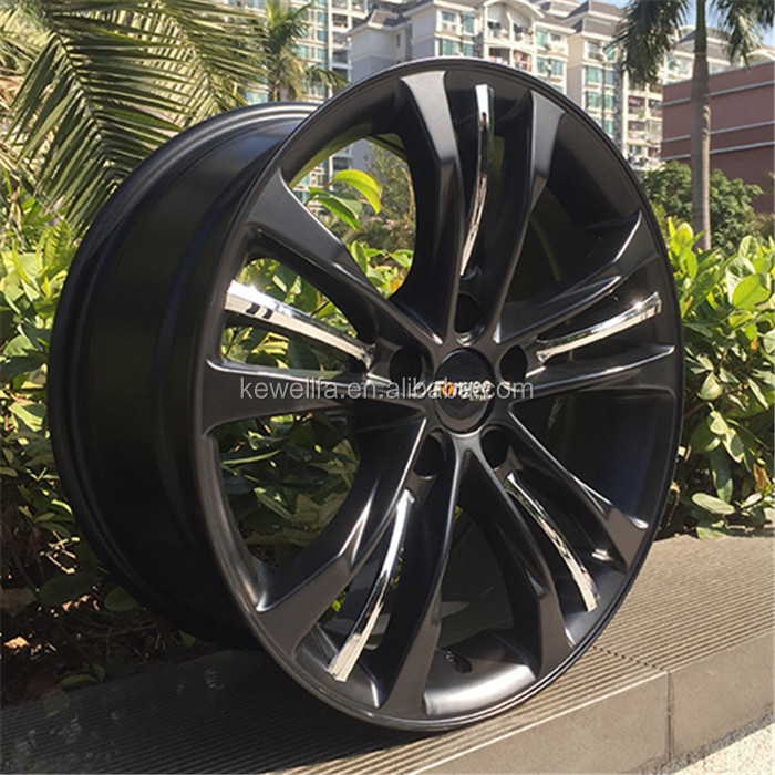 "OEM car factory 8"" x3"" swivel wheel with 1.6T loaded black caster;car accessory/wheel/alloy wheel"
