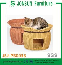 Nice comfortable rattan wicker pet house indoor dog kennels