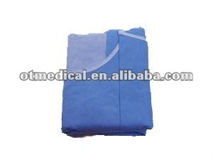 folding surgical gown