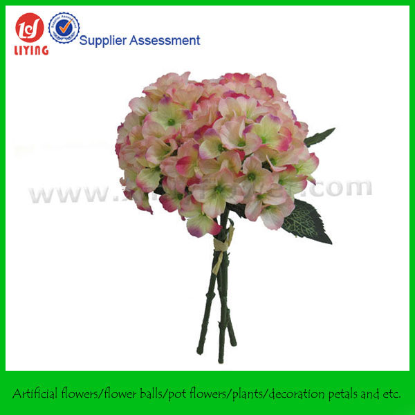 Artificial Flowers Bundle Flower Collection Small Hydrangeas Bundle