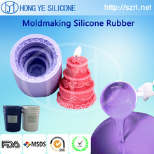RTV silicone rubber for candle mold making