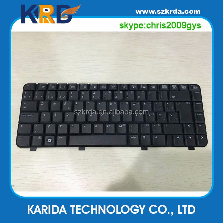 Wholesale Teclado Spanish keyboard For HP Pavilion DV2000 V3000 series SP layout laptop keyboard