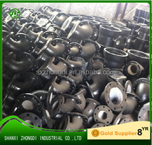 Ductile Cast Iron Pipe Fittings DI 90 Deg Double Flanged Bend/elbow