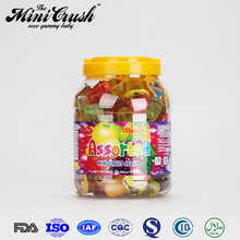 HACCP ISO FDA Certified Jar Fruit Pudding Jelly