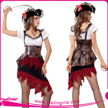 Wholsale sexy carnival costume pirates for party