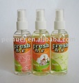 2013 lemon perfume liquid spray freshener with good smell for freshing your car