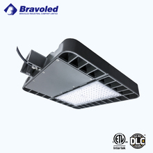 ETL DLC listed led parking lot light 150w shoebox light