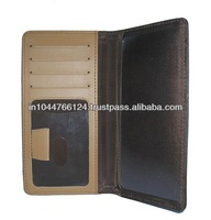 Checkbook Holder / casual leather mens checkbook wallets / beautiful design check book cover