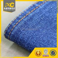 high quality cotton denim fabric stocklot for shoes
